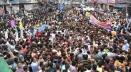 রাজধানীতে 'সম্প্রীতি সমাবেশ ও শান্তি শোভাযাত্রা' করেছে আওয়ামী লীগ