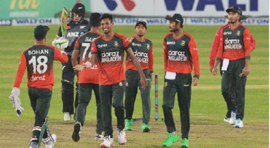 আজ আরব আমিরাতে যাচ্ছে বাংলাদেশ জাতীয় ক্রিকেট দল