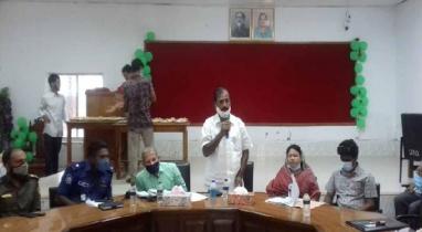 কিশোরগঞ্জের নিকলীতে এনআইএলজির ইউপি ভিত্তিক ভাল শিখন চিহ্নিত করণ কর্মশালা অনুষ্ঠিত
