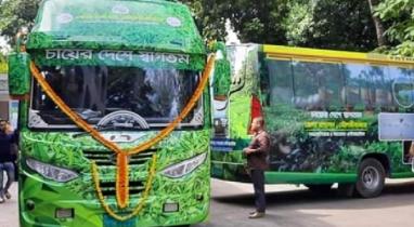 মৌলভীবাজারে পর্যটকদের ভ্রমণের সুবিধার্থে চালু হচ্ছে ট্যুরিস্ট বাস