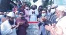 ময়মনসিংহ সিটি মেয়রের আরসিসি সড়ক নির্মাণ কাজের উদ্বোধন