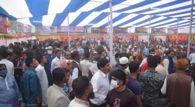 ভালুকায় আন্তর্জাতিক মাতৃভাষা ও শহিদ দিবস উপলক্ষে বইমেলা অনুষ্ঠিত