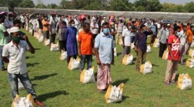 মৌলভীবাজারে প্রধানমন্ত্রীর খাদ্য সহায়তা পেলো ৫০০ পরিবার