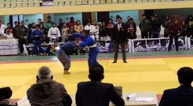 বঙ্গবন্ধু নবম বাংলাদেশ গেমসে জুডো প্রতিযোগিতার উদ্বোধন
