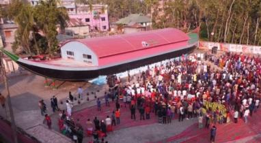 বরগুনায় দেশের প্রথম বঙ্গবন্ধু নৌকা জাদুঘর উদ্বোধন