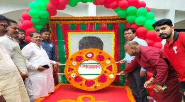 নেত্রকোণার বারহাট্টায় নানা আয়োজনে শেখ রাসেলের জন্মদিন পালিত